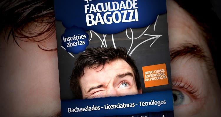 Faculdade Bagozzi anuncia vestibular e novo curso de graduação