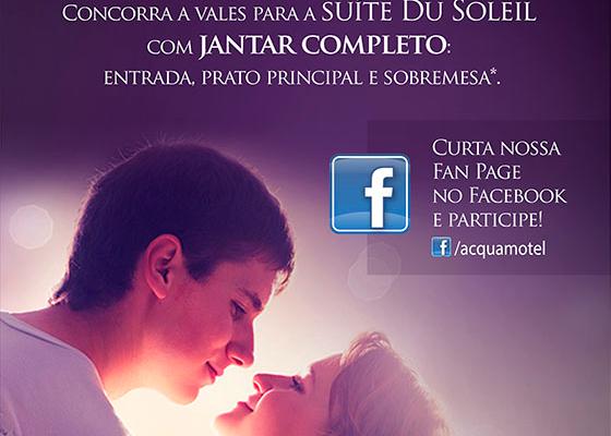 Motel Acqua investe em promoção nas redes sociais