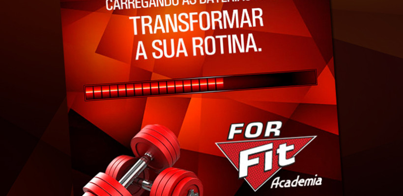 Priory cria campanha para a Academia For Fit