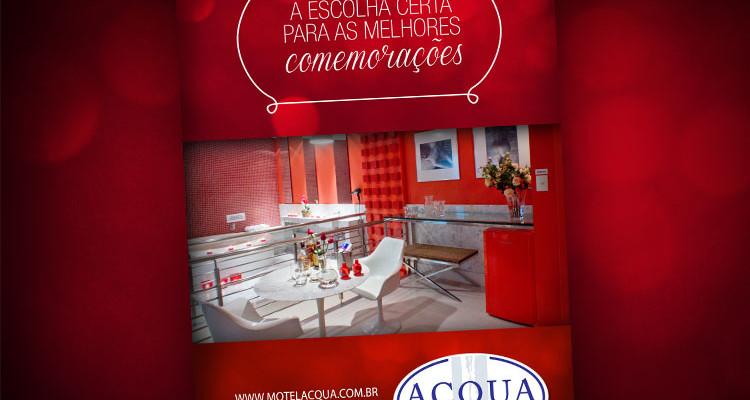 Motel Acqua investe em mídia externa