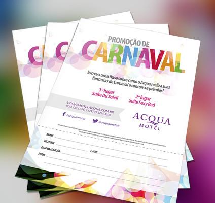 Já é carnaval no Acqua Motel!