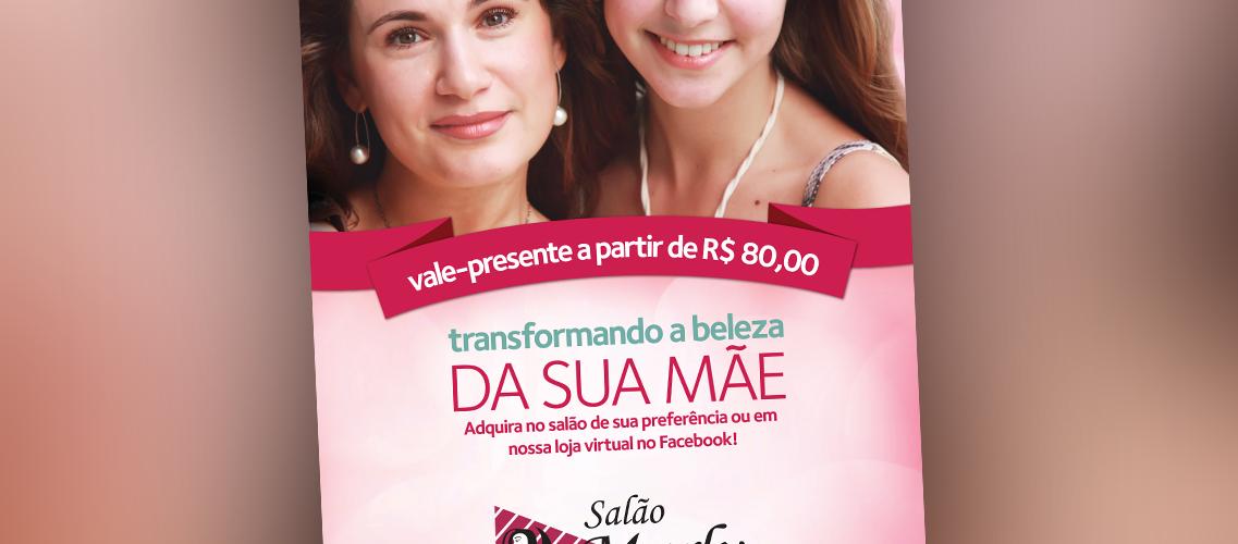 Campanha Dia das Mães Salão Marly