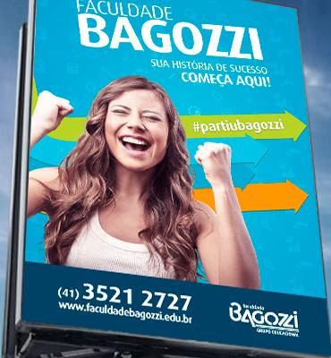 Campanha de vestibular de inverno da Faculdade Bagozzi está nas ruas