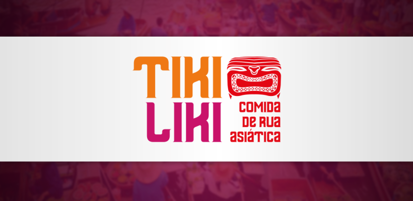 Priory cria identidade visual para o restaurante Tiki Liki