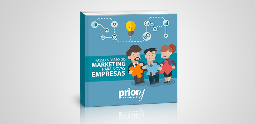 Ebook Passo a passo do marketing para novas empresas