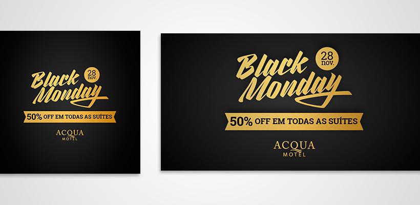 Black Monday Acqua Motel: campanha aumentou o faturamento em 52%
